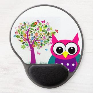 Cute Owl Gel Mousepad
