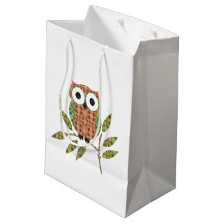 Cute Owl  Gift Bag