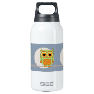 Cute Owl Insulated Water Bottle
