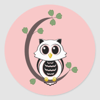 Cute Owl Stickers