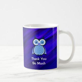 Cute Owl Thank You Mug