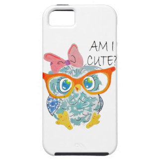 Cute Owl Tough iPhone 5 Case
