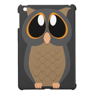 Cute Owl with Big Eyes iPad Mini Cover