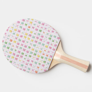 cute owls allover A Ping Pong Paddle