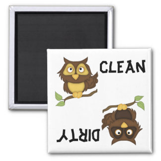 Cute Owls Dishwasher Magnet