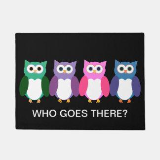 Cute Owls Doormat