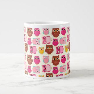 Cute Owls Large Coffee Mug
