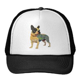 Cute Painted French Bulldog Cap
