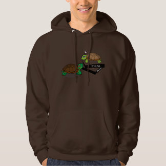 Cute Painted Turtle Hooded Pullovers