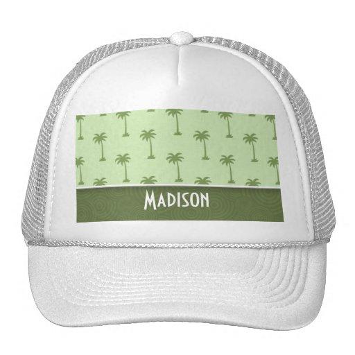 Cute Palm Tree Pattern Trucker Hat