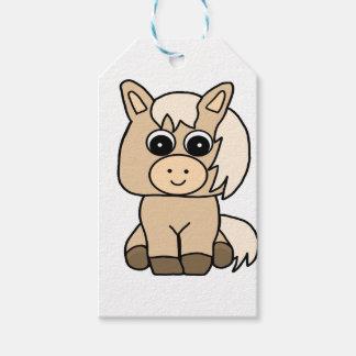Cute Palomino Horse Gift Tags
