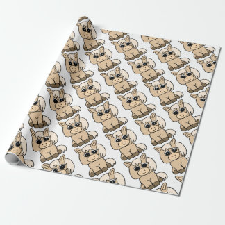 Cute Palomino Horse Wrapping Paper