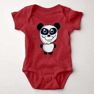 Cute Panda bear Cartoon Baby Bodysuit