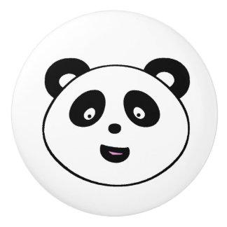 Cute Panda Bear Ceramic Knob