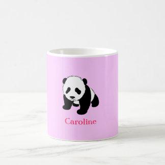Cute Panda Bear Fan Personalized Coffee Mug Gift