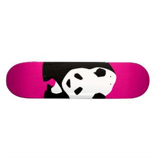 Cute Panda Bear Hot Pink Fuchsia Zoo Wildlife Gift 21.3 Cm Mini Skateboard Deck