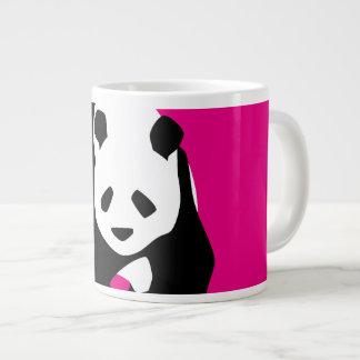 Cute Panda Bear Hot Pink Fuchsia Zoo Wildlife Gift 20 Oz Large Ceramic Coffee Mug