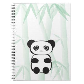 Cute Panda Bear Notebook
