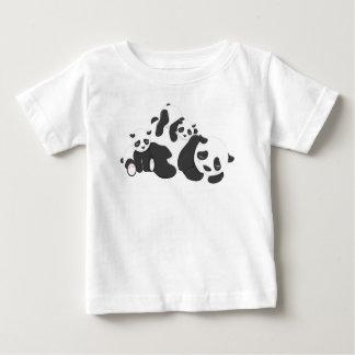 Cute panda Bears baby Design Baby T-Shirt