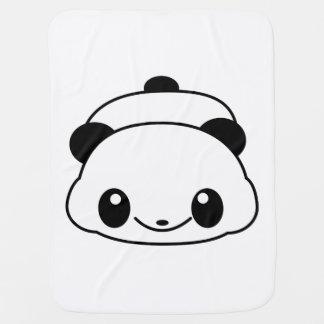 Cute panda buggy blankets