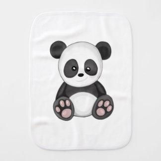 Cute Panda Burp Cloth