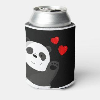 Cute panda can cooler