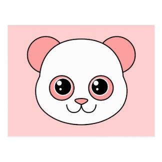 Cute Panda Cotton Candy Postcard