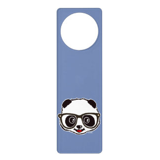 Cute Panda Door Hanger