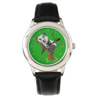 Cute Panda illustration Wristwatches