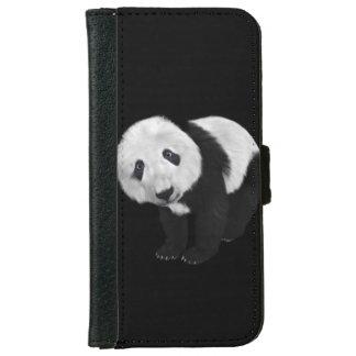 Cute Panda iPhone 6 Wallet Case