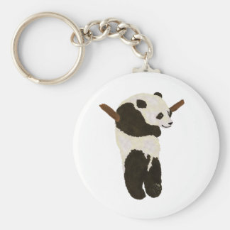 Cute Panda Key Ring