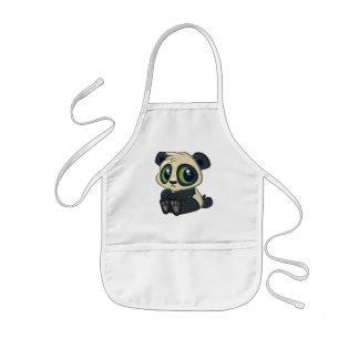 Cute Panda Kids Apron