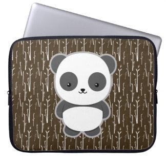 Cute Panda Laptop Sleeve