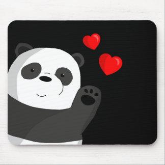 Cute panda mouse pad