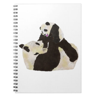 Cute Panda Notebook