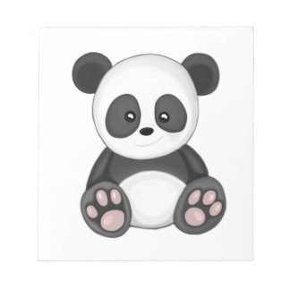 Cute Panda Notepad