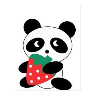 Cute Panda Party Pack Postcard