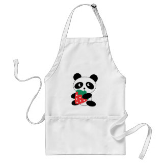 Cute Panda Party Pack Standard Apron