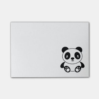 Cute Panda Post-it Notes