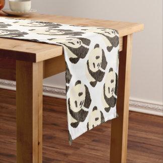 Cute Panda Short Table Runner