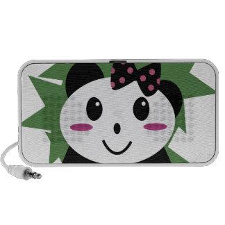 Cute panda speaker