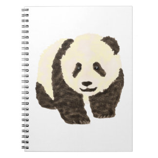 Cute Panda Spiral Notebook