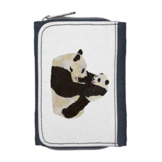 Cute Panda Wallets