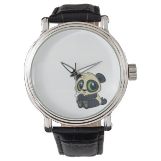 Cute Panda Watch