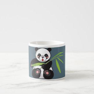 Cute Panda with Bamboo Espresso Mug