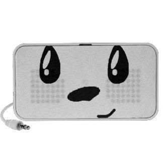 Cute panda with bowtie iPod speaker