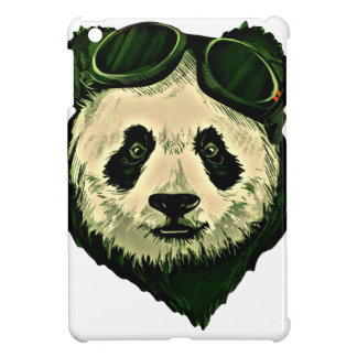 Cute Panda with Glasses iPad Mini Case