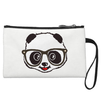 Cute Panda Wristlet