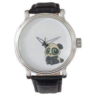 Cute Panda Wristwatch