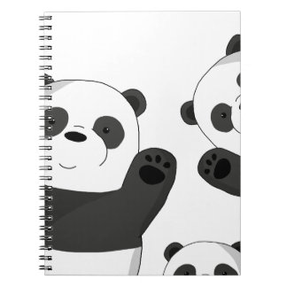 Cute pandas notebook